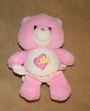 Care Bears Pink Baby Hugs Teddy Bear with Diaper 2002 Reduced!!!! BIN