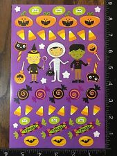 HALLOWEEN STICKERS TRICK OR TREAT, SHEET STICKERS BY CREATOLOGY  #TRICK13