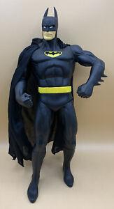 """1998 Batman 13"""" Action Figure w/ Cloth Cape DC Comics Bruce Wayne"""