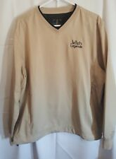 TEHAMA MEN'S LIGHTWEIGHT PULLOVER GOLF JACKET MEDIUM BEIGE F55