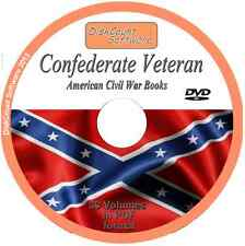 Confederate Veteran   American Civil War   33 Vintage e-Books PDF on 1 DVD