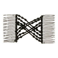 Double Side Magic Stretchy Beads Hairpin Combs Elastic Hair Styling Clips