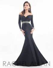 Prima Donna 5740 Black Red Carpet Winning Pageant Gown Dress sz 12