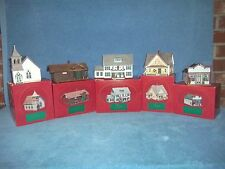 Hallmark The Sarah Plain and Tall Collection - 5 Scenes from 1994 -  in Boxes