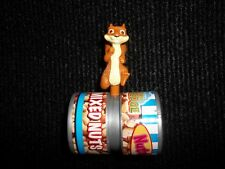 Wendys Hammy Squirrel Over The Hedge Mixed Nuts Kids Meal toy nutty barrel 2006