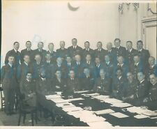 More details for post ww2 group photo senior air staff officers saso air cdre j f young left mid