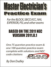 Master Electrician Practice Exam Based on 2011 NEC