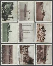 1912 ITC C63 Pictures of Canadian Life Tobacco Cards Near Set of 47/50