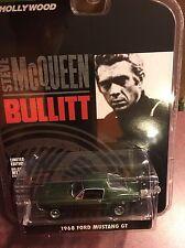 Greenlight  HOLLYWOOD GREATEST HITS  Steve McQueen Bullitt 68' Ford Mustang GT