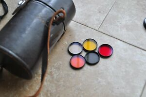 Nikon Filters for Reflex Nikkor 500mm F8 lens, Red,Yellow,ND4 and more