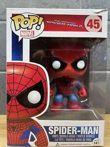 Funko POP! Marvel - The Amazing Spider-Man 2  -SPIDER-MAN #45 - 2014 Original
