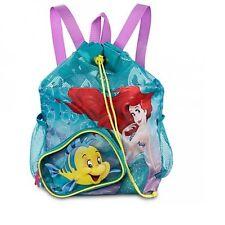 Genuine Disney Princess Ariel Little Mermaid Swim Bag Beach Bag Backpack