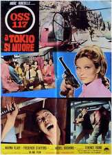 OSS 117 ATOUT COEUR A MISSION TO TOKYO Italian 1F movie poster MARINA VLADY 1966