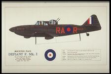 419056 Boulton Paul Defiant F Mk I A4 Photo Print