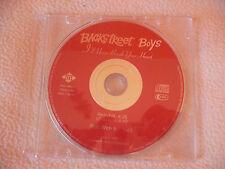 CD Backstreet Boys: I´ll vever break your heart
