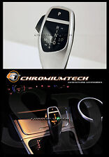 2003-11 BMW E83 X3 SILVER LED Shift Gear Knob for LHD w/Gear Position Light NEW