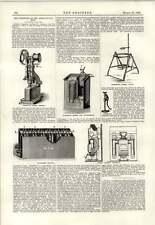 1890 Telescopic Bucket Fire Extinguisher Weymersch Battery Reim Firegrate