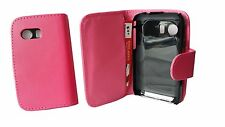 PINK FLIP LEATHER WALLET CASE CARD HOLDER COVER FOR SAMSUNG GALAXY YOUNG S5360