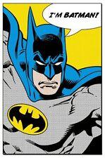 Batman Dc Comics Batman Soy 91.5 X 61CM Póster Nuevo Mercancía Oficial