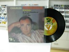 """Charles Aznavour 7 """" E.P.Spanisch Le Toreador + 3. 1965"""