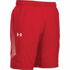 Men's UA Woven Training Shorts RED 4XL NWT