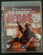Sony Playstation 3 PS3 Tom Clancy's Rainbow Six: Vegas 2 FACTORY SEALED >ITA<