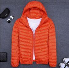 Men's Winter Hoodie Packable Ultralight Down Jacket Hooded Puffer Outerwear Coat