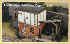 RATIO Models 540 workstation of service for locomotive with crane - scale 1/87