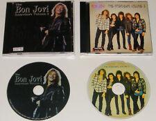 BON JOVI The Interviews Volumes 2 & 3 Rare UK Interview Picture Disc Cd Set