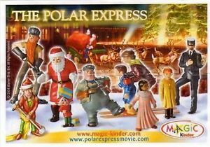 THE POLAR EXPRESS - PERSONAGGI A SCELTA (C-201 - C-211) KINDER ITALIA 2004/2005