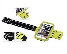 Brassard couleur JAUNE i phone 6 Sports running jogging gym course à pied