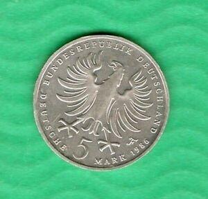 Germany  5 mark 1986      #41