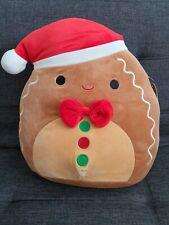 Squishmallows Christmas gingerbread man boy Jordan 2020 12 Inch new