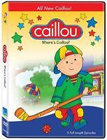 Caillou: Where's Caillou DVD / New  Fast Ship! (VG-CJ00396 / VG-138)