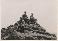 Echtes Soldatenfoto 2.Weltkrieg Berggipfel