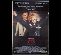 For the Boys 1991 Bette Midler Original Australian One-Sheet Cinema Poster 198