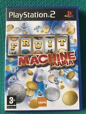 Máquina de frutas manía (Sony PlayStation 2 PS2) PAL