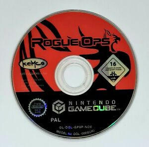 Nintendo GameCube Spiel ROGUE OPS dt. PAL Stealth Action Adventure/Shooter