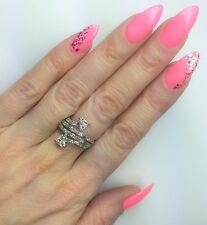 Diamond Ring 1.14ct Baguette, Princess Cut and Round Cut Diamonds 18k White Gold