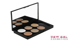 cream contour palette with free oval brush
