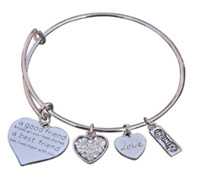 Best Friends Bracelet, Not Sisters By Blood But Sisters By Heart Bracelet