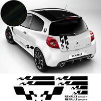 Renault Sport cup - Kit autocollant adhésif - Stickers COULEUR AU CHOIX