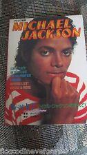MICHAEL JACKSON JAPAN BOOK 1983 RARE NO PROMO BAD THRILLER CD