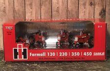ERTL Case IH Farmall 130/ 230/ 350/ 450 50th Anniversary Collector Set 1/64