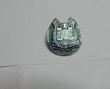 Vintage Knaresborough coat of arms in A lucky Horseshoe Enamel Badge Yorkshire