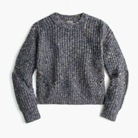 Point Sur Chunky Knit Pullover Cozy Sweater Cable Knit Women's Size M