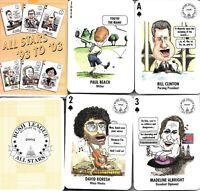 BUSH LEAGUE ALLSTARS, ALLSTARS '93 TO '03, PLAYING CARDS 2004
