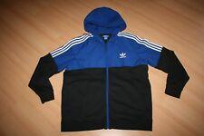 AdidasKapuzenjacke Jacke Hoody Hoodie Sweatjacke XL 52 54 schwarz/blau NEU