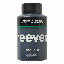 Reeves Acrylic Paint 400 Ml Paynes Gray