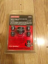 "Craftsman 1/2"" QuickRout Router Bit Connector/Adapter Kit"